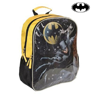 School Rucksack with LED Batman 983