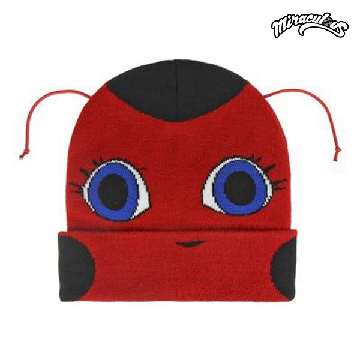 Child Hat with Antennae Lady Bug 628