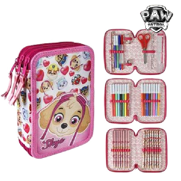 Triple Pencil Case The Paw Patrol 654