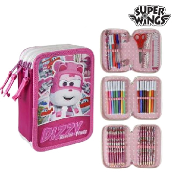 Triple Pencil Case Super Wings 678