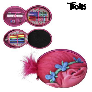 3D Pencil Case Trolls 217