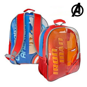 Vendbar Skoletaske The Avengers 8980