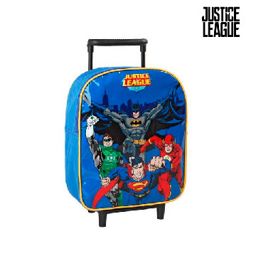 School Rucksack with Wheels Justice League 1608