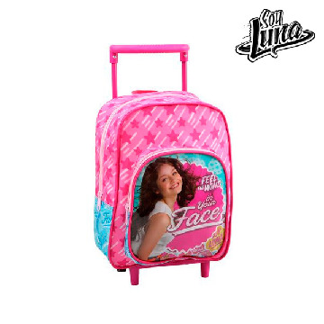 School Rucksack with Wheels Soy Luna 1872