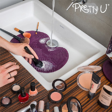 Pretty U Make-up Brush Cleaning Cushion