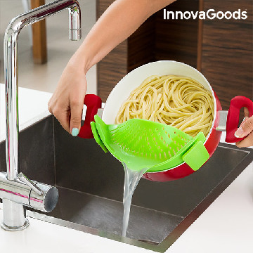 InnovaGoods Silicone Strainer