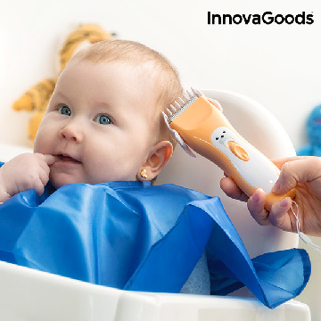 InnovaGoods Wellness Care Rechargeable Hair Trimmer for Babies