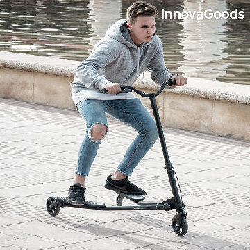 InnovaGoods Folding Scooter (3 Wheels)