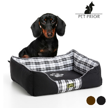 Luxe Pet Prior Hundeseng (65 x 50 cm)