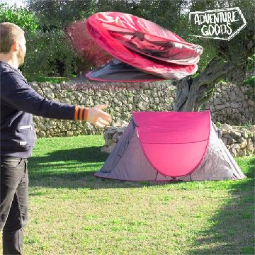 Pop Up Adventure Goods Selvrejsende Campingtelt