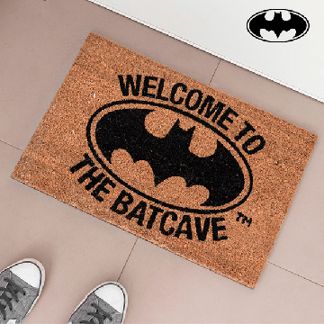 Welcome To The Batcave Dørmåtte