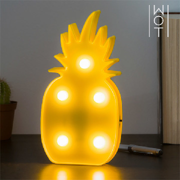 Wagon Trend LED Ananas Væglys (5 LED)