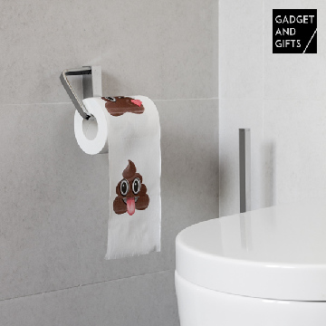 Poo Emotion Gadget and Gifts Toilet Paper