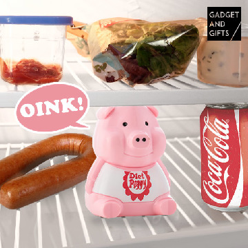 Diet Gadget and Gifts Piglet with Sound for Fridges