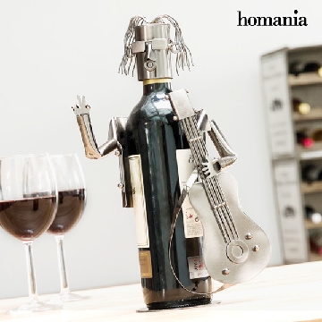 Guitarist by Homania Metal Wine Rack