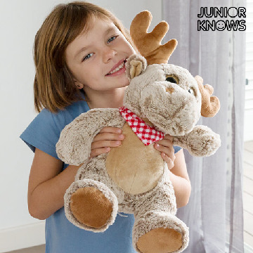 Junior Knows Deer Soft Toy