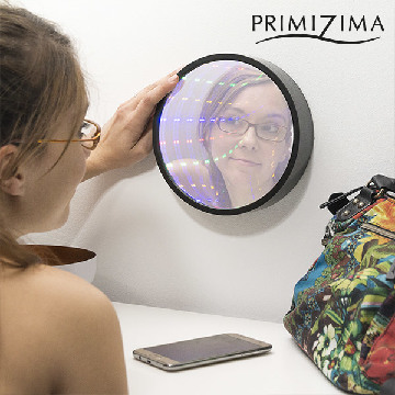 Primizima Multicolor LED Mirror with Tunnel Effect