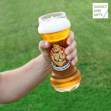 Gadget and Gifts Ølglas No Pain No Beer