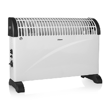 Tristar Black & White Electric Convection Heater KA5912 2000W