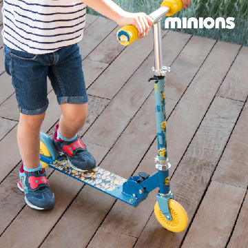 Minions Scooter (2 hjul)