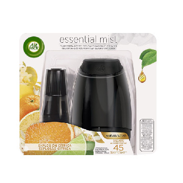 Air Wick Essential Mist (Citrus Burst) Air Freshener Automatic Diffuser and Refill