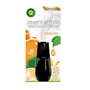 Air Wick Essential Mist (Citrus Burst) Air Freshener Refills (Pack of 6)