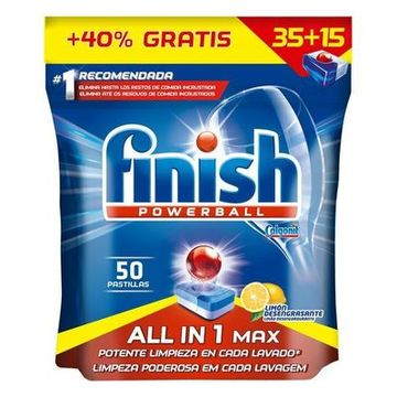 Finish All in 1 Citron Opvasketabletter (52 Vaske)