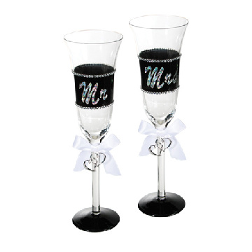 Mr and Mrs Champagneglas