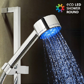 Brusehoved Rundt Eco LED