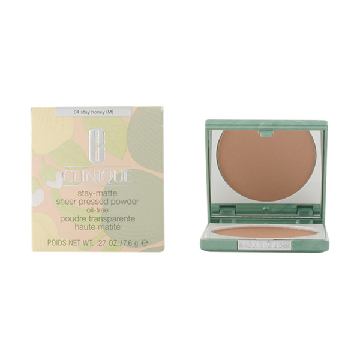 Clinique - STAY MATTE SHEER powder 04-stay honey 7.6 gr