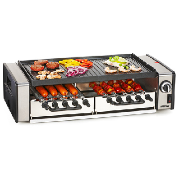 Multifunktions-Grill med Roterende System - Tristar RA2993