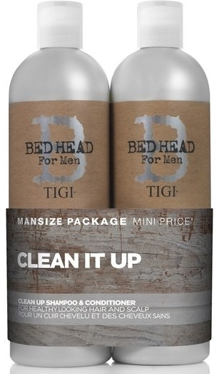 TIGI Bed Head for Men Clean Up Tweens 2x750 ml Set