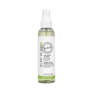 Matrix Bio Raw Nourish Replenish Oil Mist 125ml
