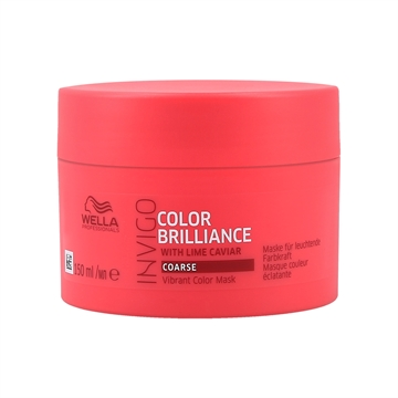 Wella Professionals Brilliance Invigo Brilliance Coarse Hair Mask 150ml