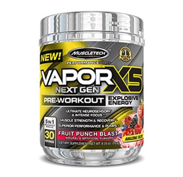 MuscleTech naNO Vapor X5 Next Gen - 30 servings