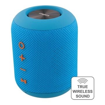 Streetz, CM-758 Speaker BT waterresistant tube IPX5, Blue