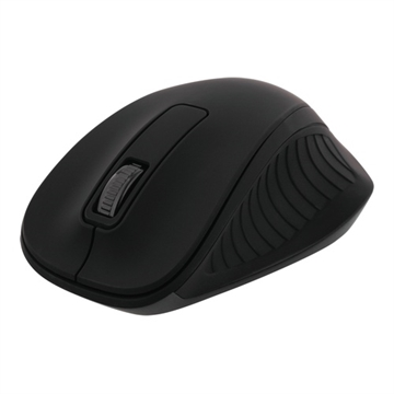 Deltaco, Wireless optical Mouse 2,4GHz, 3 buttons, Black
