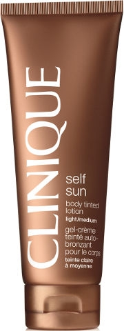 Clinique Self Sun Body Tinted Lotion 125ml Light/Medium - Oil Free