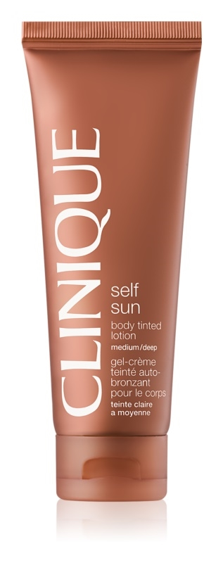 Clinique Self Sun Body Tinted Lotion 125ml Medium/Deep - Oil Free