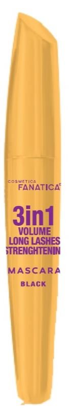 Fanatica Mascara 3In1 Vol. Long L. Sort