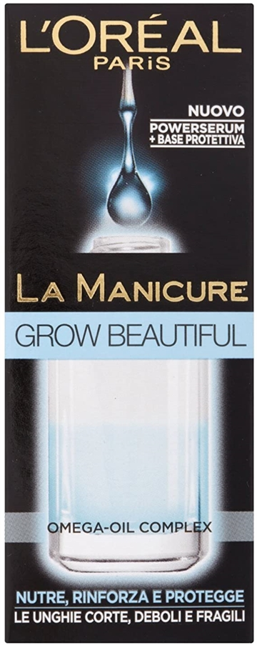 L' Oreal La Manicure Grow Beautiful 5ml Nourishes And Protects