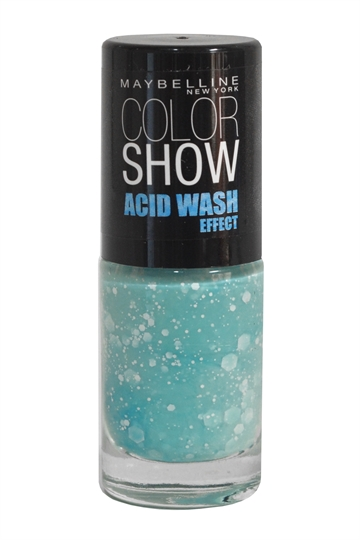 Maybelline Color Show Acid Wash Effect Nail Lacquer 7ml Mint-Acid-Ittude nr.246