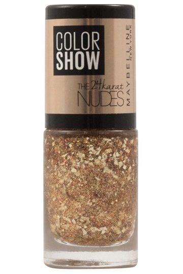 Maybelline Color Show The 24k Nudes Nail Varnish 7ml Bronze Babe nr.479