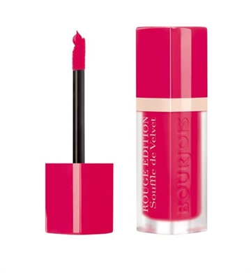 Bourjois Paris Lipstick Rouge Edition Balm Comfort 10hr 7.7ml Fuchsiamallow (#05) Sheer Matte