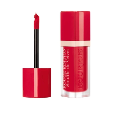 Bourjois Paris Lipstick Rouge Edition Balm Comfort 10hr 7.7ml Cherry Leaders (#06) Sheer Matte