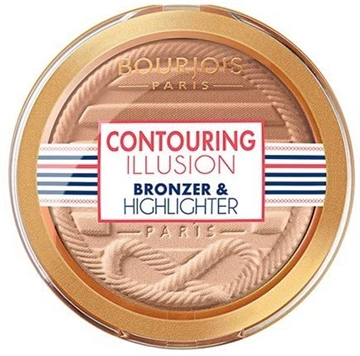 Bourjois Paris Bronzer and Highlighter (Illuminator) 8g Contouring Illusion Duo #23