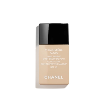 Chanel Vitalumiere Aqua Ultra Light Skin Perfecting Make Up SPF 15 -22 Beige Rose 30ml Fondation