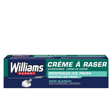 Williams Shaving Cream 100ml Menthol Ice Fresh
