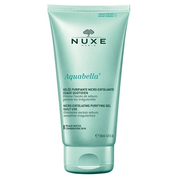 Nuxe Aquabella Exfoliating Purifying Gel 150ml Combination Skin-Face