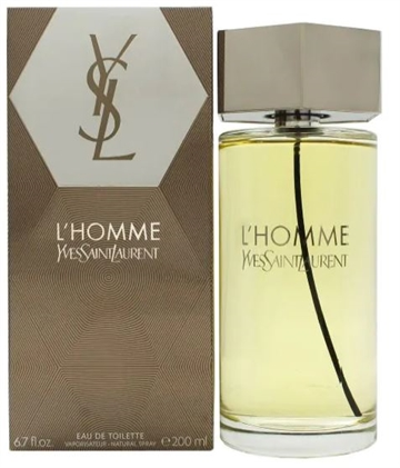 Yves Saint Laurent L'Homme Eau De Toilette Spray 200 ml